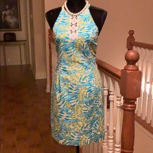 EUC Lilly Pulitzer white label-Vintage dress